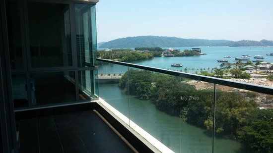 Loft E Luxury Condo| SEA VIEW |above IMAGO Shopping Mall | KK City Centre  91160486