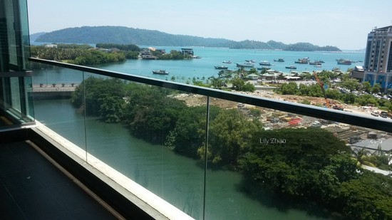 Loft E Luxury Condo| SEA VIEW |above IMAGO Shopping Mall | KK City Centre  91160813