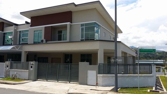 2 storey SEMI DETACHED, Corner Lot |Green Hill Park, Inanam  120154682