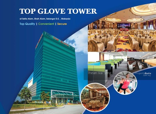 Top Glove Tower, Grade A Corporate Office Setia Alam Klang Shah Alam Mall Highway  75089687