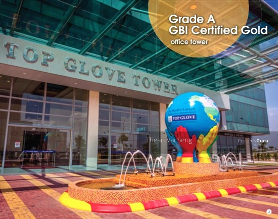 Top Glove Tower, Grade A Corporate Office Setia Alam Klang Shah Alam Mall Highway  75089702