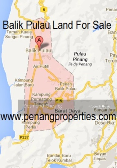 Balik pulau land for sale 2.1 acre  79869701