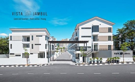 Vista Jambul , 3 Storey Gated Terrace with Extra Back Garden , 5 Bedrooms , Bukit Jambul  84410471