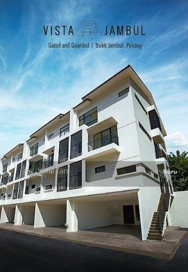 Vista Jambul , 3 Storey Gated Terrace with Extra Back Garden , 5 Bedrooms , Bukit Jambul  84410480