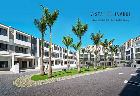 Vista Jambul , 3 Storey Gated Terrace with Extra Back Garden , 5 Bedrooms , Bukit Jambul  84410495