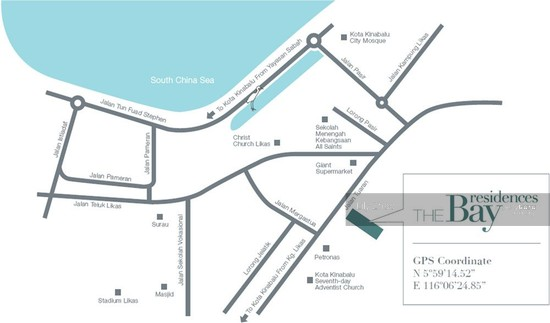 The Bay Residences| Luxury Super Condo| Corner| Likas Bay  91205342
