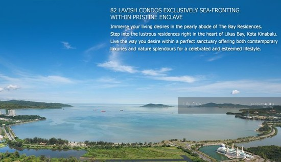 The Bay Residences| Luxury Super Condo| Corner| Likas Bay  91205675