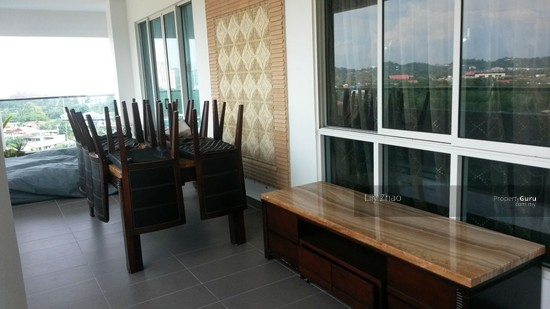 The Bay Residences| Luxury Super Condo| Corner| Likas Bay Balcony, Function Area 91205825