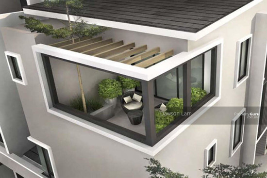 Double Storey Semi Detached House@ Ipoh Town  109596848