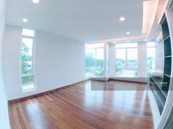 Bungalow Ramal Villa Ramal Villa Master Bedroom with Plaster Ceiling and Cabinet 118223387