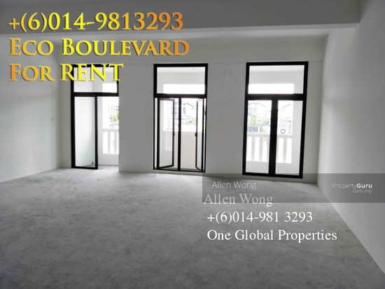 Eco Boulevard - 3 Storey Shoplot@Eco Botanic For RENT Eco Boulevard - 3 Storey Shoplot@Eco Botanic For R 118441571