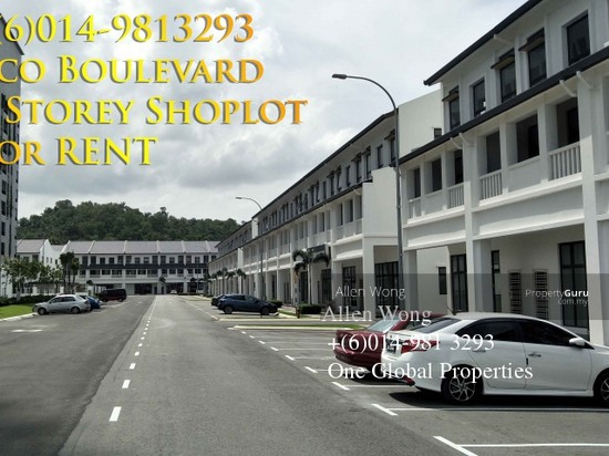 Eco Boulevard - 3 Storey Shoplot@Eco Botanic For RENT Eco Boulevard - 3 Storey Shoplot@Eco Botanic For R 118441601