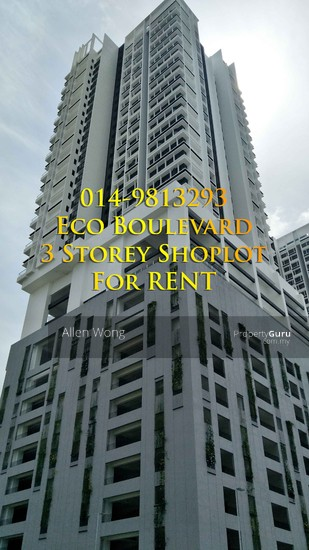 Eco Boulevard - 3 Storey Shoplot@Eco Botanic For RENT Eco Boulevard - 3 Storey Shoplot@Eco Botanic For R 118441892