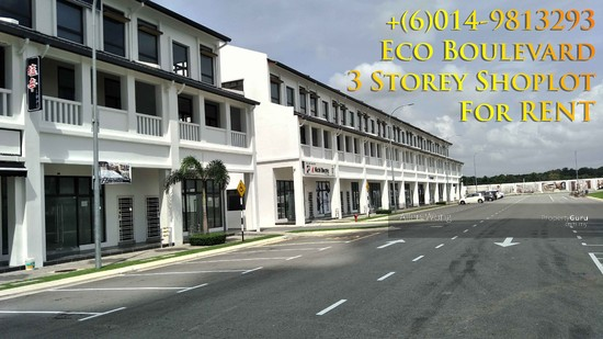 Eco Boulevard - 3 Storey Shoplot@Eco Botanic For RENT Eco Boulevard - 3 Storey Shoplot@Eco Botanic For R 118441898