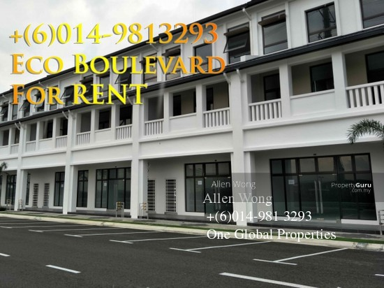 Eco Boulevard - 3 Storey Shoplot@Eco Botanic For RENT Eco Boulevard - 3 Storey Shoplot@Eco Botanic For R 118496660