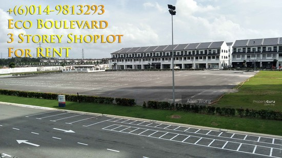 Eco Boulevard - 3 Storey Shoplot@Eco Botanic For RENT Eco Boulevard - 3 Storey Shoplot@Eco Botanic For R 118497374