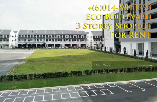 Eco Boulevard - 3 Storey Shoplot@Eco Botanic For RENT Eco Boulevard - 3 Storey Shoplot@Eco Botanic For R 118497389