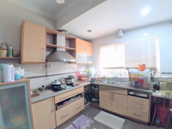 2 Sty Link Fully Extended  Taman Sunway Batu Caves Kitchen area 121334201