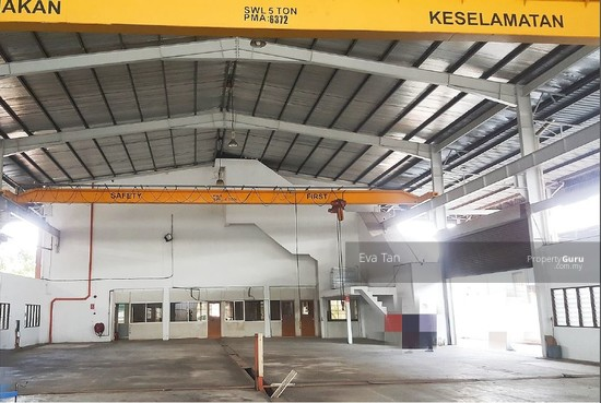 Pasir Gudang 300Am Power Detached Factory with Overhead Crane for Rent  125718035