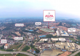 1 acre industrial land in a Gated Guarded Factory Zone in Asta Industrial Park, Jade Hill, Kajang - Property For Sale in Malaysia