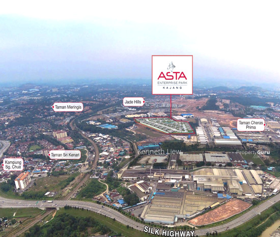 1 acre industrial land in a Gated Guarded Factory Zone in Asta Industrial Park, Jade Hill, Kajang  123458246