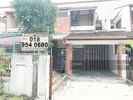 Bercham Double Storey Terrace House, 22'x75'  123626861