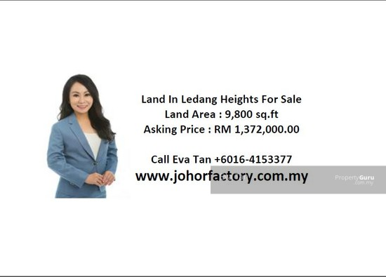Nusajaya, Ledang Heights Adjoining Residential Land for Sale  123947336