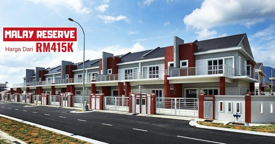 Klang South New Malay Reserve Double Storey easy access Shah Alam Kesas for sale  128510996