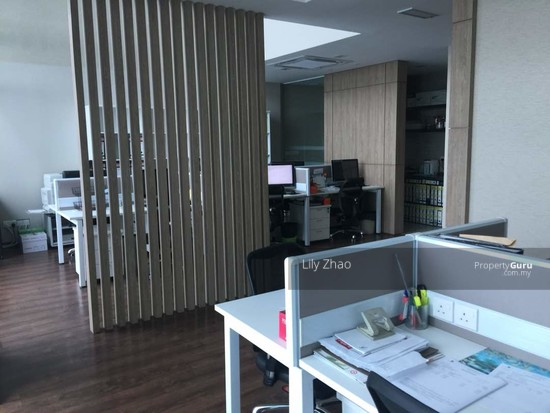 Luxury Ready Office | Renovated ,Fully Furnished | Duplex unit | Top Floor | Riverson SOHO | KK City  125584535