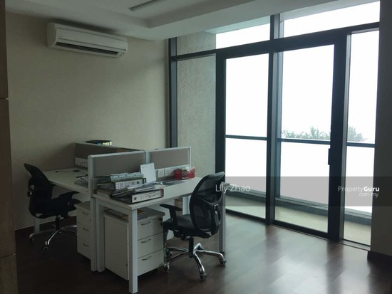 Luxury Ready Office | Renovated ,Fully Furnished | Duplex unit | Top Floor | Riverson SOHO | KK City  125584547