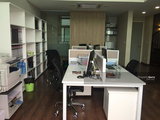 Luxury Ready Office | Renovated ,Fully Furnished | Duplex unit | Top Floor | Riverson SOHO | KK City  125584556