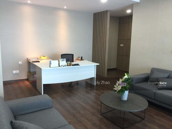 Luxury Ready Office | Renovated ,Fully Furnished | Duplex unit | Top Floor | Riverson SOHO | KK City  125584589