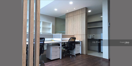 Luxury Ready Office | Renovated ,Fully Furnished | Duplex unit | Top Floor | Riverson SOHO | KK City  125585753