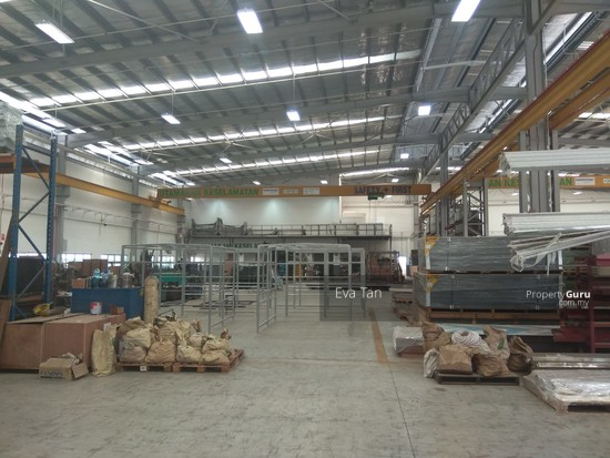 Kulai I-Park @ Indahpura 600Am Power Detached Factory with Mezz. Office for Sale  126764114