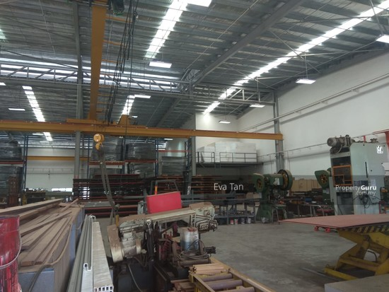 Kulai I-Park @ Indahpura 600Am Power Detached Factory with Mezz. Office for Sale  126764141
