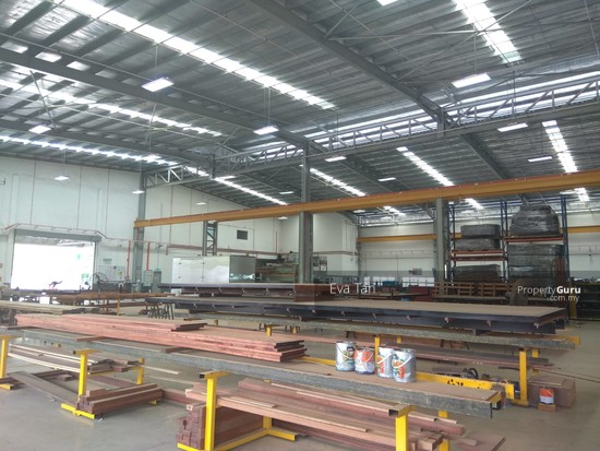 Kulai I-Park @ Indahpura 600Am Power Detached Factory with Mezz. Office for Sale  126764148