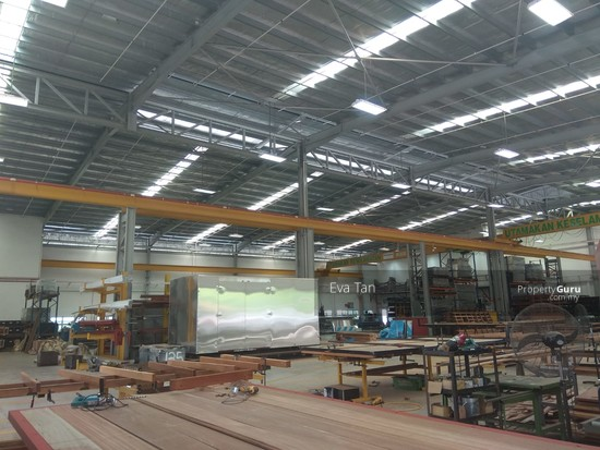 Kulai I-Park @ Indahpura 600Am Power Detached Factory with Mezz. Office for Sale  126764149