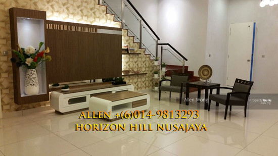 Horizon HIll Canal Garden Cluster Unit@Nusajaya Canal Garden cluster Unit located at Horizon Hills4 bedroom cluster house for rent, fully furnished. 127452837