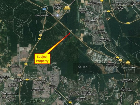 Senai 5.5 Acres Industrial Land for Sale  128055403