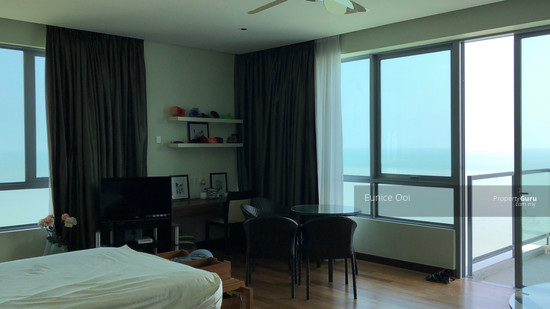 Infinity Beachfront Condo Beautiful seaview & breeze in master bedroom in unit 02 for this Skylounge 128208776