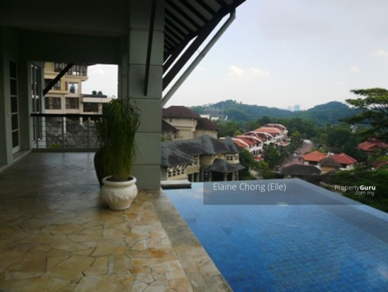 Bangsar Hill - gated, unblocked view  129618696