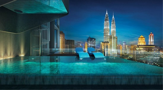 100% Loan , 0% D/P +Free Furnished ,Freehold High-End Condo KL City  134668664