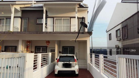 [ END LOT ] Townhouse The Lake Residence Puchong  129976144