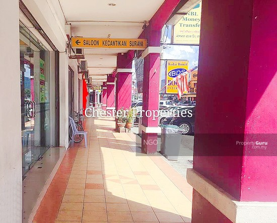 Ground Floor Shop Unit With Tenancy   Lian Hoe Plaza Jalan Abu Bakar  Batu Pahat  130481810