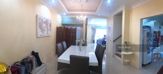 RENOVATED 2-Storey Terrace House Intermediate (Type Spira), Alam Impian, Shah Alam  130976200