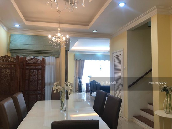 RENOVATED 2-Storey Terrace House Intermediate (Type Spira), Alam Impian, Shah Alam  130976201