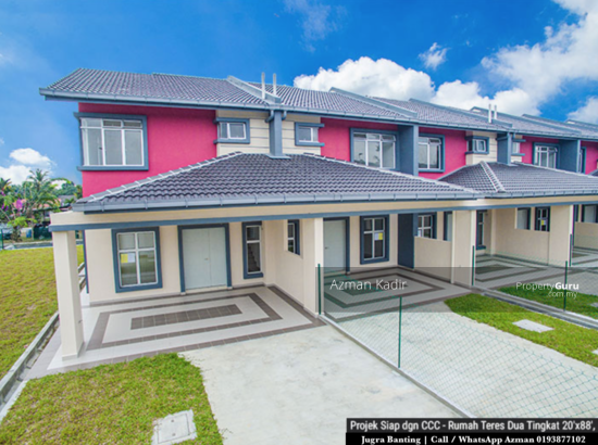 Newly completed with CCC 2 Storey Terrace Jugra Banting  146434041