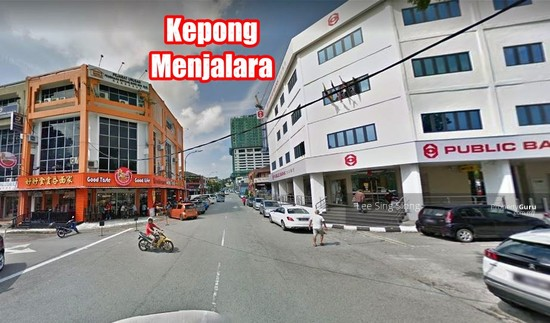 Kepong Menjalara Corner Shop For RENT  133991601