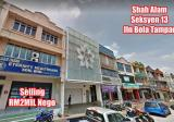 Shah Alam Seksyen 13 Shop For SALE - Property For Sale in Malaysia