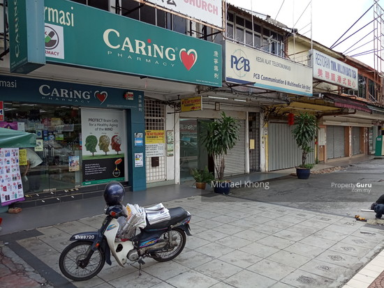 Ipoh Road 1st  Floor Shop Batu 3 Facing Main Road for Rent  134452544